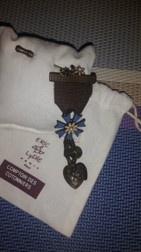 Comptoir des Cotonniers Brooch blue
