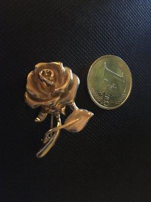Brosche . Rose . Neu