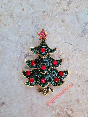 Brosche Tanne Tannenbaum Weihnachtsbaum Weihnachten