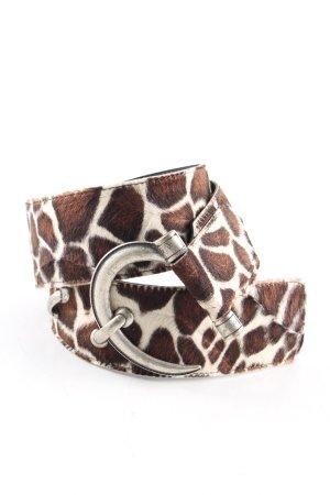 Browning Cinturón pélvico blanco puro-marrón estampado de animales
