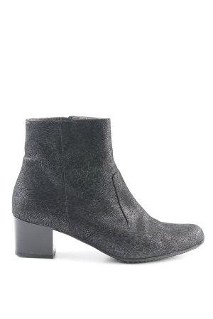 Brunate Ankle Boots schwarz-grau Animalmuster