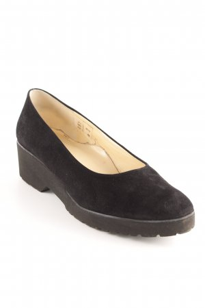 Brunate Keil-Pumps schwarz Casual-Look