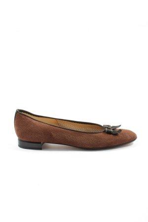 Brunate Classic Ballet Flats brown casual look