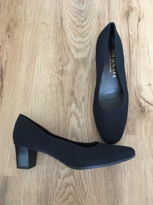 Brunate Mary Jane pumps zwart