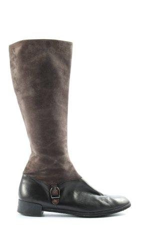 Brunate Jackboots brown casual look