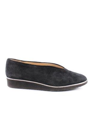 Brunate Buty wciągane czarny W stylu biznesowym