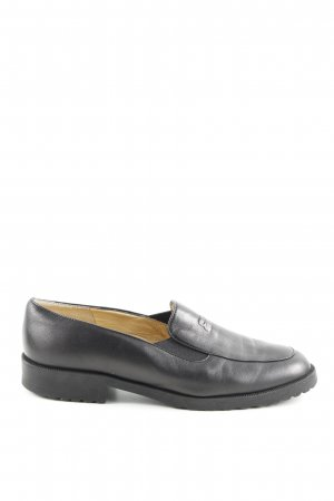 Brunate Slip-on noir style d'affaires