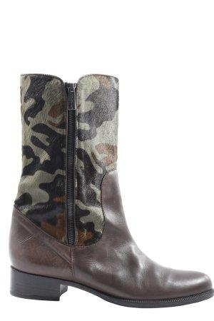 Brunella Absatz Stiefel Camouflagemuster Casual-Look