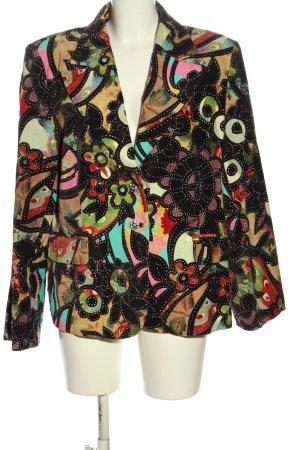 Brunella Short Blazer allover print casual look