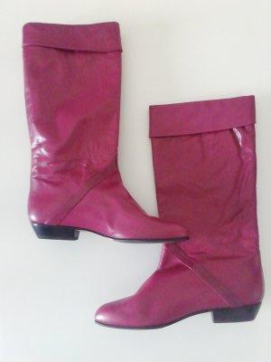 Brunella Slip-on laarzen framboosrood