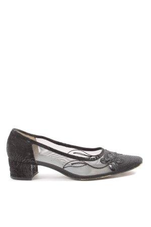 Brunella Slip-on noir style décontracté