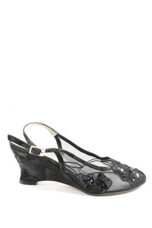 Brunella Slingback Pumps black casual look