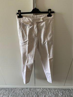 Brunello Cucinelli Pantalone chino bianco sporco