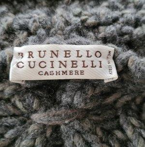 Brunello Cucinelli Coarse Knitted Jacket multicolored cashmere