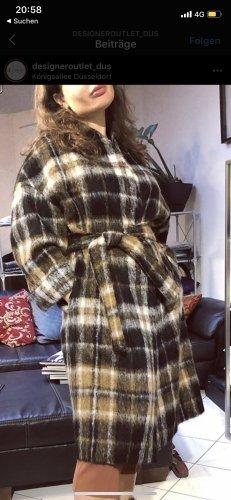 Brunello Cucinelli Cappotto in lana multicolore Lana d'alpaca