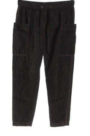 Brunello Cucinelli Jeans larghi nero stile casual