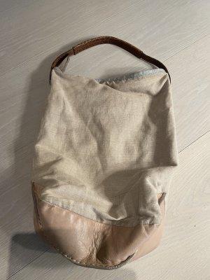 Brunello Cucinelli Pouch Bag beige mixture fibre