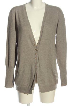 Brunello Cucinelli Cardigan grigio chiaro stile casual