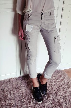 Brunello Cucinelli Cargo Pants natural white-oatmeal