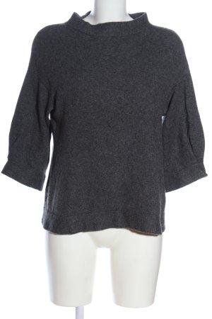 Brunello Cucinelli Pullover in cashmere grigio chiaro puntinato stile casual