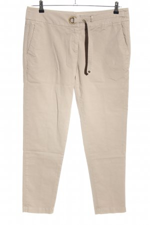 Brunello Cucinelli Chino wolwit casual uitstraling