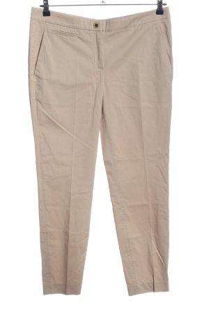 Brunello Cucinelli Pantalone a vita bassa bianco sporco stile casual