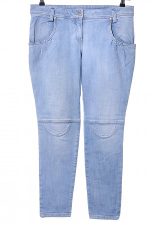 Brunello Cucinelli Jeans a carota blu stile casual