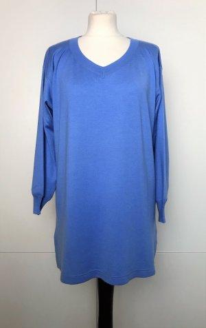 Brunello Cucinelli Pullover in cashmere blu acciaio-azzurro Cachemire