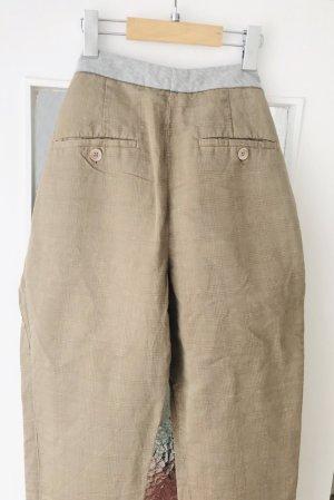 Brunello Cucinelli Pantalone chino multicolore Lino