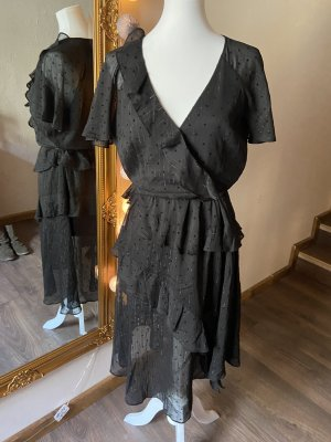 Brunello Cucinelli Robe mi-longue noir