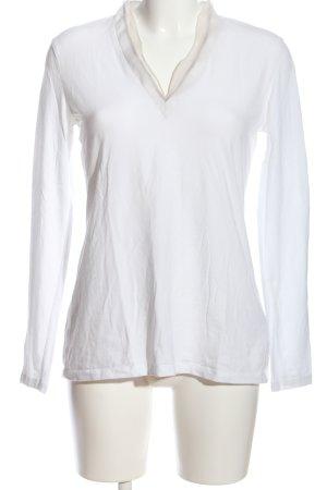 Brunello Cucinelli Camicetta a maniche lunghe bianco-bianco sporco
