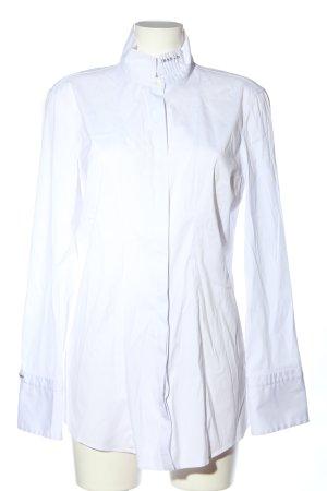 Brunello Cucinelli Chemise à manches longues blanc style d'affaires