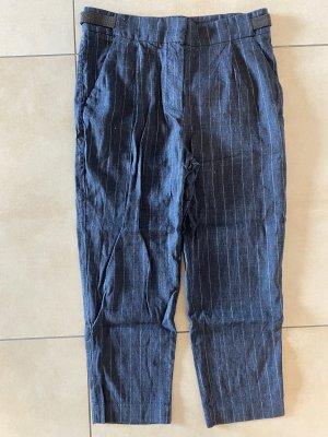 Brunello Cucinelli Pantalone di lino multicolore