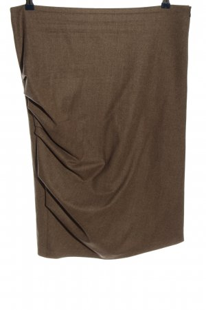 Brunello Cucinelli Pencil Skirt brown flecked casual look