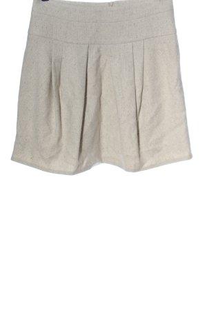 Brunello Cucinelli Minigonna bianco sporco modello web stile casual