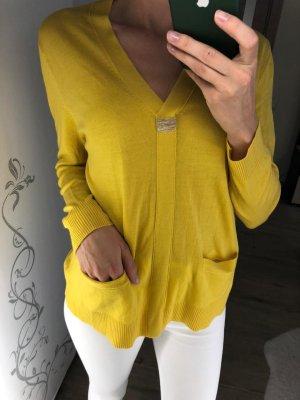 Brunello Cucinelli Pullover in cashmere giallo