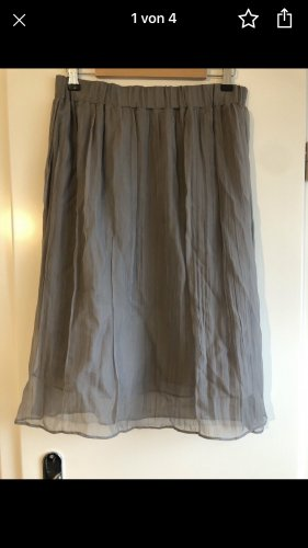 Brunello Cucinelli Midi Skirt grey