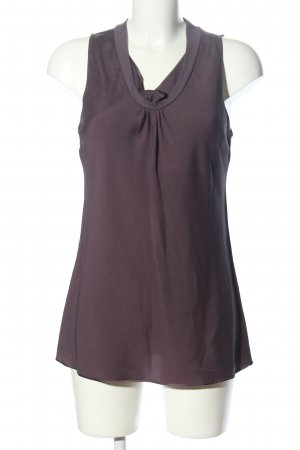 Brunello Cucinelli Haut en soie violet style décontracté