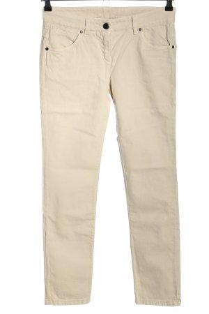 Brunello Cucinelli Jeans skinny bianco sporco stile casual