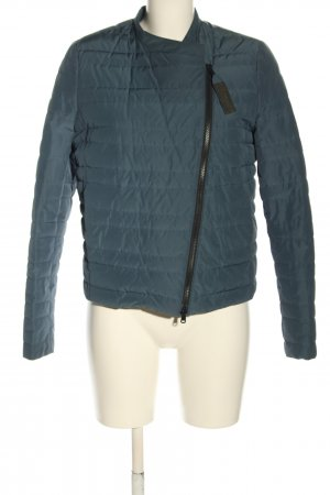Brunello Cucinelli Quilted Jacket blue quilting pattern casual look