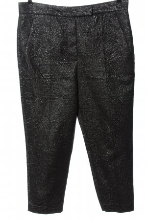 Brunello Cucinelli Jersey Pants black-silver-colored casual look
