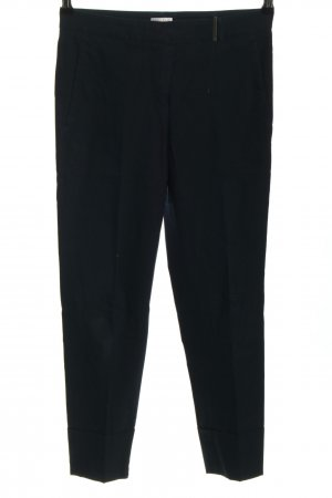 Brunello Cucinelli Jersey Pants black casual look