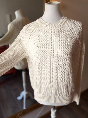 Brunello Cucinelli Pull tricoté blanc