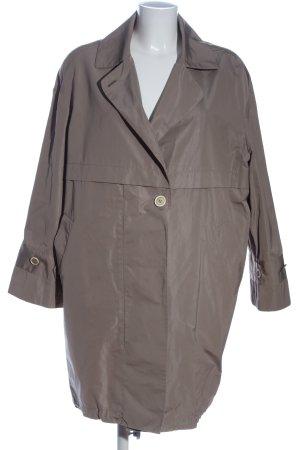 Brunello Cucinelli Between-Seasons-Coat light grey casual look