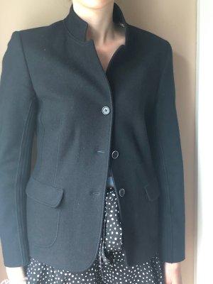Brunello Cucinelli Blazer in lana nero Lana d'angora