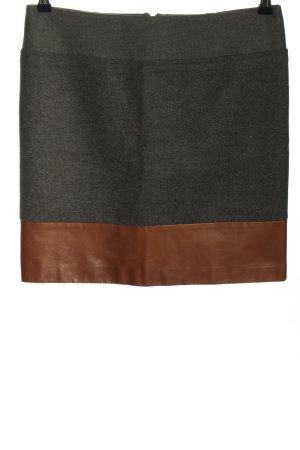 Brunello Cucinelli Wool Skirt black-brown casual look