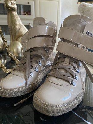 Brunello Cucinelli Lace-Up Sneaker cream