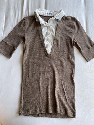 Brunello Cucinelli Basic Shirt white-light brown