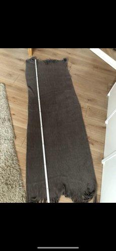 H&M Écharpe en tricot brun noir-brun foncé