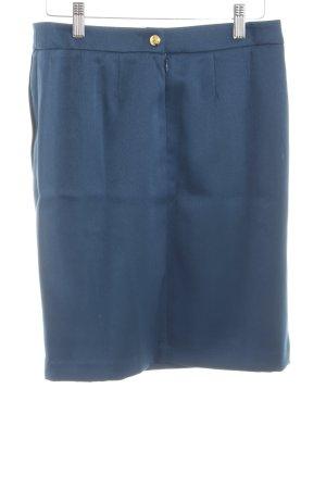 Bruno Banani Bleistiftrock blau Casual-Look